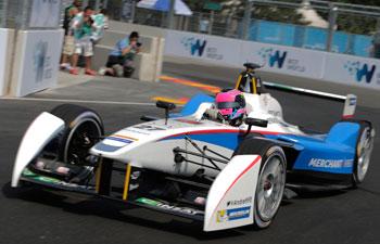 Andretti Autosport driver Franck Montagny
