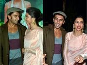Deepika, Ranveer get mushy in public but not ready to admit
