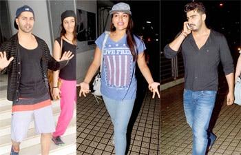 Varun Dhawan, Shraddha Kapoor, Sonakshi Sinha, Arjun Kapoor