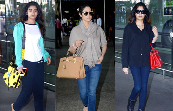 Sridevi with daughters Khushi and Jahnavi