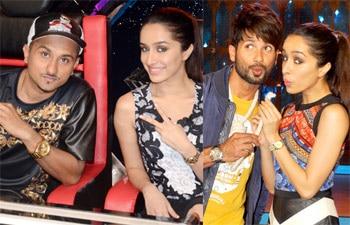 Yo Yo Honey Singh, Shahid Kapoor, Shraddha Kapoor