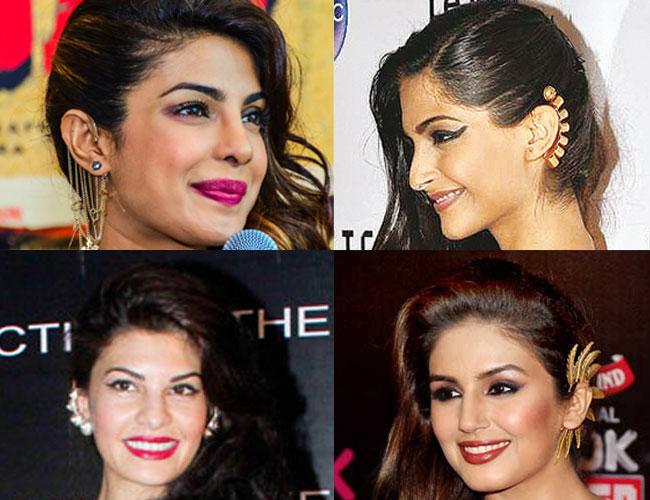 Priyanka Chopra, Sonam Kapoor, Huma Qureshi, Jacqueline Fernandez