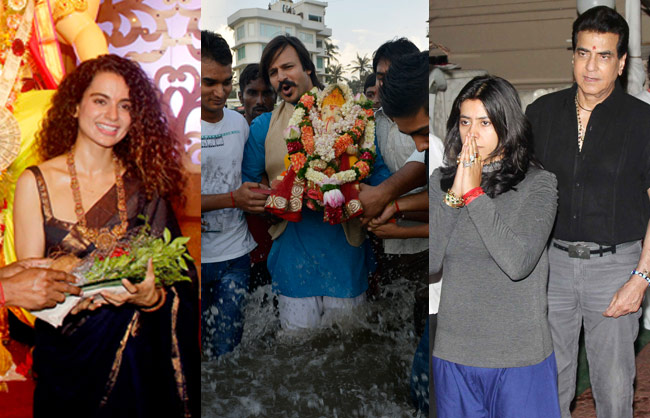 Kangana Ranaut, Vivek Oberoi, Jeetendra, Ekta Kapoor