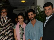 Haider screening: Amitabh Bachchan, Shahid's mom shower blessings