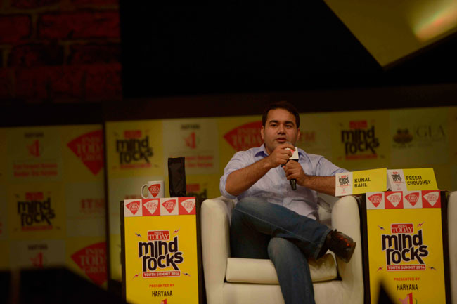 Mind Rocks Youth Summit 2014, Kunal Bahl
