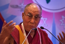 The Dalai Lama in Delhi