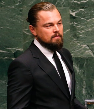 Leonardo DiCaprio bats for environment at UN forum