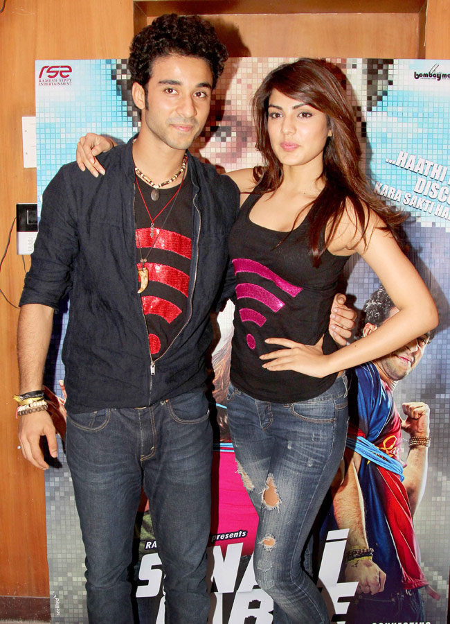 Rhea Chakraborty and Raghav Juyal