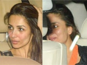 Celeb spotting: Kareena, Malaika arrive for Karan Johar's party