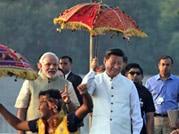 In pics: Xi Jinping takes a walk around Sabarmati Ashram, Ahmedabad