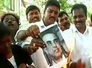 Amma held guilty, supporters protest against verdict