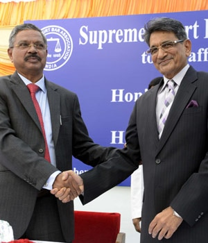 Former chief Justice of India R L Lodha