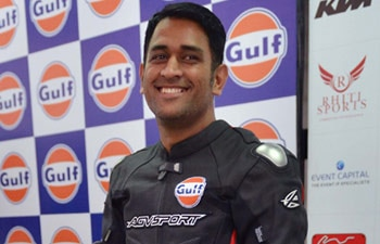 Mahendra Singh Dhoni is the brand ambassador of the two-day Bike Festival of India that started on Saturday at the Buddh international circuit.