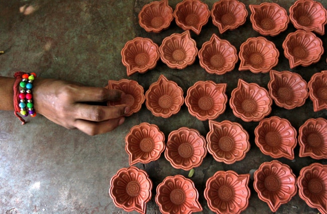 Diwali preparations