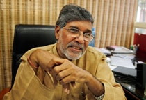 Kailash Satyarthi, 60, is only the second Indian to win the Nobel Peace Prize, after Mother Teresa who won it in 1979.