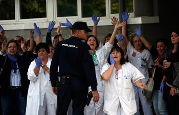 Ebola, Madrid, Carlos III hospital, Mariano Rajoy, virus