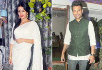 Small screen actors got together to celebrate Diwali at a fun-filled evening.