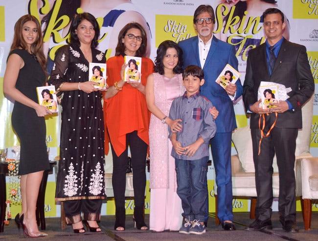 Amitabh Bachchan, Neetu Singh and Ileana D'Cruz