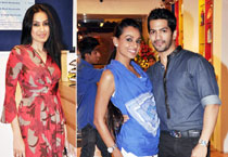 Several small screen actors like Amit Tandon, Kamya Punjabi, Mouni Roy and Resshmi Ghhosh go together to spend some time at a kids' playaround centre in Kandivali (West), Mumbai.