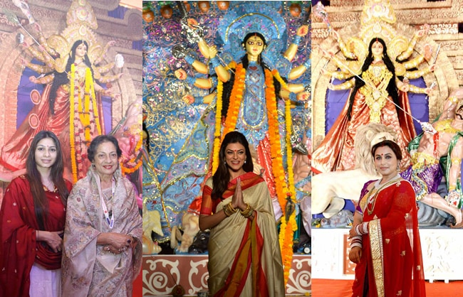 Tanisha-Tanuja, Sushmita, Rani