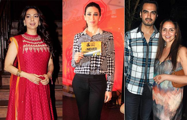 Esha Deol, Karisma Kapoor, Juhi Chawla