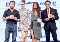 Glitz and glamour galore at Happy Ending music launch