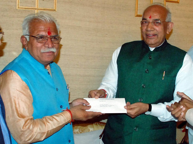 New Haryana CM: The process and celebrations begin