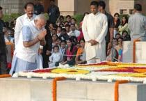 PM pays homage to Mahatma Gandhi on birth anniversary