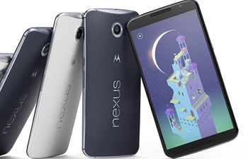 Google unveils Nexus 6 smartphone
