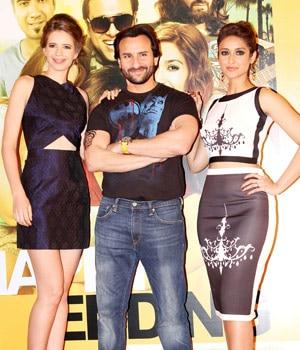 Kalki, Saif and Ileana
