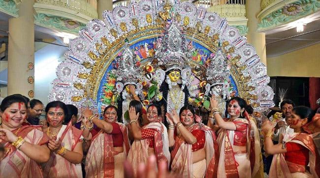 India celebrates Durga Puja, Vijaya Dashami