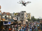 Camera fitted drone