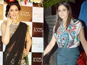 Celeb spotting: Nargis dons traditional look, while Sridevi turns hottie