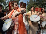 Supporters rejoice as BJP sweeps Haryana