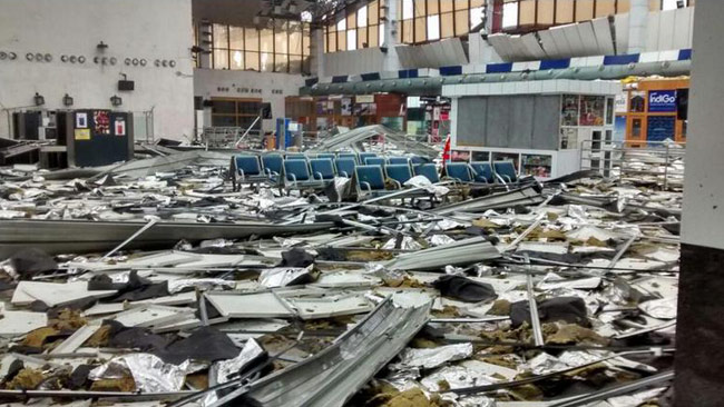Cyclone Hudhud brought the Visakhapatnam Airport, the biggest in Andhra Pradesh, down to rubble while also snapping all air connectivity.