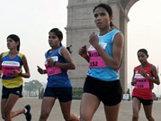 10 photos of Airtel Delhi Half Marathon
