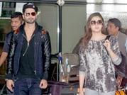 Shaandaar Shahid Kapoor, Alia Bhatt back in Mumbai