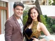Kapil Sharma, Elli Avram on the sets of Abbas-Mustan's next