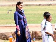 Spotted: Kareena shoots for Bajrangi Bhaijaan at Humayun's Tomb