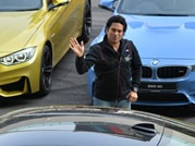BMW brand ambassador Sachin Tendulkar launches M3 and M4 luxury cars at BIC