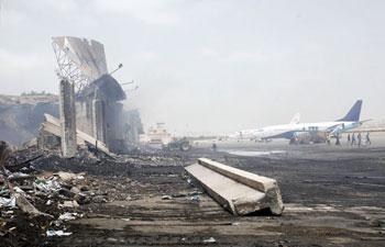 Jinnah International Airport in Karachi