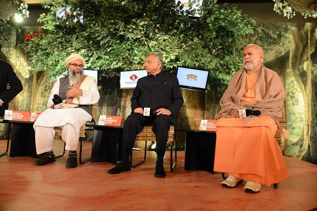 Maulana Mahmood Madani, Mani Shankar Aiyar and Swami Chinmayananda Saraswati