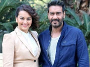 Sonakshi Sinha and Ajay Devgn, redefine their style statements
