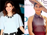 Bubbly Anushka and stylish Jacqueline's weekend outing