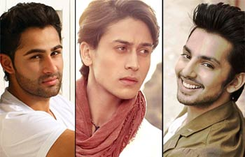 Bollywood's most promising newcomers of 2014, tiger shroff, kriti sanon, siddharth shukla, tahir bhasin, mannara, daisy shah, surveen chawla, fawad khan, armaan jain, himansh kohli