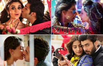 Shah Rukh Khan, Deepika Padukone, Alia Bhatt, Varun Dhawan, Sonam Kapoor, Fawad Khan, Ayushmann Khurrana