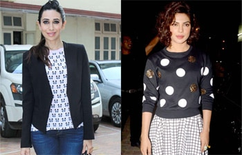Karisma Kapoor and Priyanka Chopra
