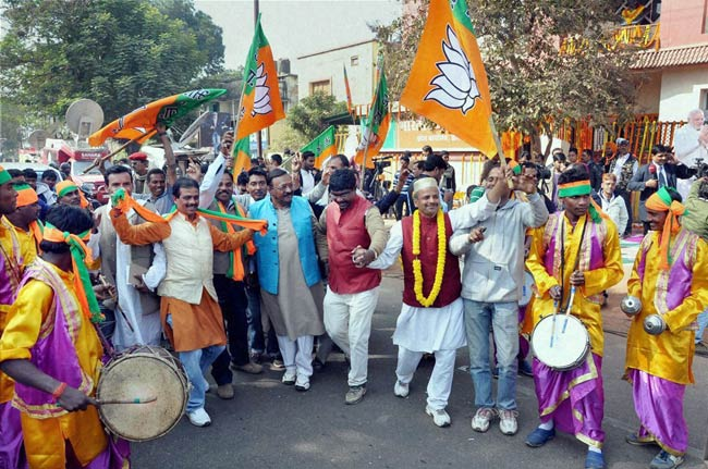 Modi wave continues, BJP wins Jharkhand