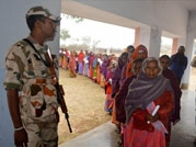 Voters come out in large numbers in Jharkhand