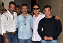 Sanjay Dutt's happy reunion with B-Town friends at PK screening
